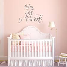 baby girl nursery decor baby girl wall