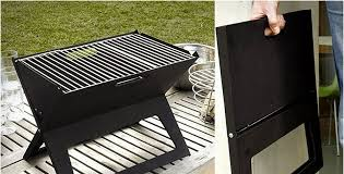 If you are heading for the beach, a picnic or camping, but cant live  without a barbecue grill, here is an interesting solution- Notebook Grill  is the ...