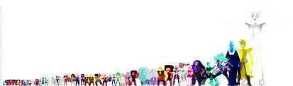 The Complete Size Chart So Far Steven Universe Universe