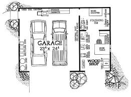woodworking shop layout 2 car garage. woodshop \u0026 garage combo (hwbdo08032) | house plan from workshop/garage pinterest workshop plans, car and plans woodworking shop layout 2 e