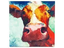 big cow canvas wall art hobby lobby 39 99