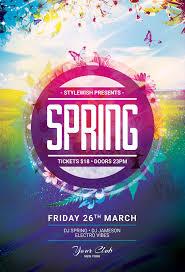 Spring Flyer Template Spring Flyer Template On Behance 10