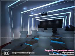 home theater room design. Home Theater And Spillover Space Interiors | Kerala Plans Room Design I