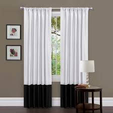 ... Marvelous Images Of Window Treatment Design And Decoration With Various White  Curtain : Fetching Accessories For ...