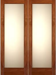 interior mahogany double door 1 lite fg 1 white laminated glass
