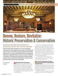 Preservation Design Works Inpaint Magazine Feb Mar 2018 By Rem Publishing Group Issuu