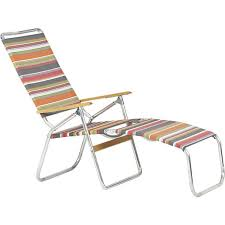 aluminum backpack folding beach chair with wooden armrest