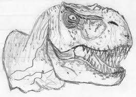 Free Jurassic Park T Rex Coloring Pages 6979 Jurassic Park T Rex