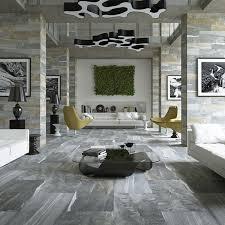beautiful grey stone effect floor tiles