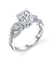 infinity wedding rings. three stone infinity engagement ring wedding rings w