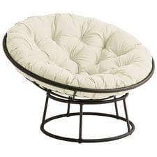 Outdoor Mocha Papasan Chair Frame