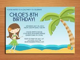Free Beach Party Invitation Templates Party Xyz