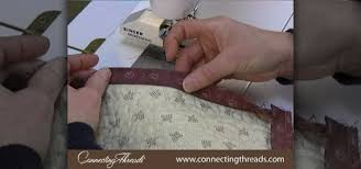 How to Bind a quilt without bumps Â« Quilting :: WonderHowTo &  Adamdwight.com