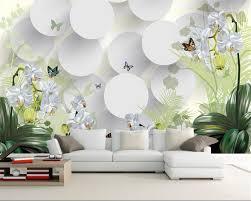 Beibehang 3d Behang Clivia Ornament Tv Muur Achtergrond Behang 3d