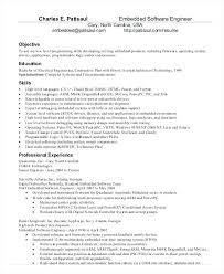 Software Engineer Resume Format For Experienced Resume Template Ideas