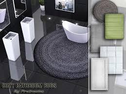 cozy bathroom rugs