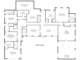 small 5 bedroom house plans 5 bedroom house plans single story small one story house plans u shaped single sq ft 5 bedroom house plans home design