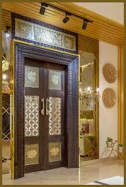 iconic pooja room door designs images