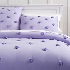 crinkle puff quilt twin lavender
