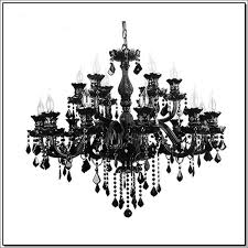 see larger image black crystal chandelier lighting