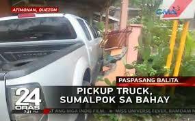 paspasan: sa hiwalay na insidente sa atimonan, sumalpok ang isang ...