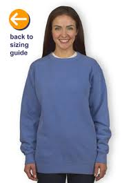 Comfort Colors Shirt Size Chart Customink Com Sizing Line Up For Comfort Colors Crewneck