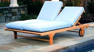 teak chaise lounge chairs contemporary double outdoor bed and shower how to for