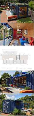 Shipping Container Sustainable House - Add solar panels and plants on roof.