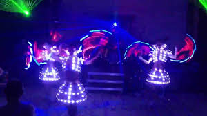 Light Solutions Etere Led Suits 3d Forms Led Fans From Light Solution Etere