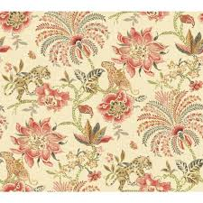 Floral wallpaper, Textured wallpaper ...