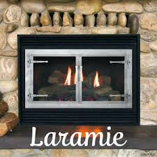 Ceramic Glass Fireplace Doors - Olympico