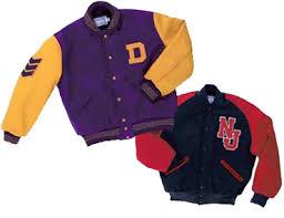Delong Jacket Size Chart Delong Award Jackets Contrasting Wool