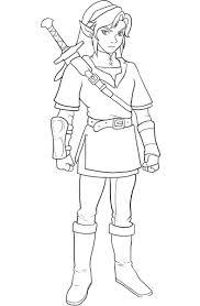 Zelda 12 Jeux Vid Os Coloriages Imprimer