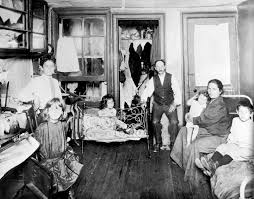 Living In One Room Family Living In A One Room Tenement Slum New York City 1890