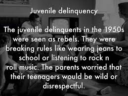 another short essay on juvenile delinquency 1149 words