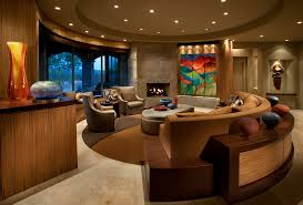 accent lighting ideas half circle couch in living room contemporary with beige stone floor accent lighting accent lighting ideas