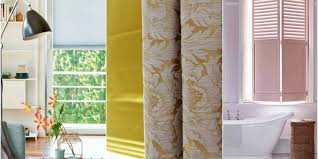 Blinds, curtains and shutters