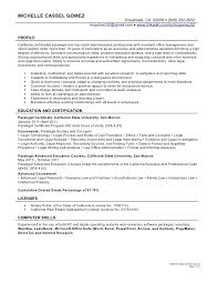 Paralegal Resume Best Paralegal Resume Job Cover Letter Examples GeoStep