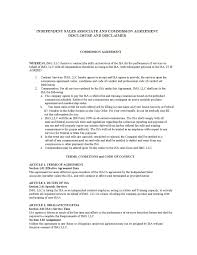 Independent Contractor Sales Commission Agreement - Funf.pandroid.co