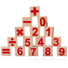 Wooden Math Games Wooden Toys Mathematics Numbers Puzzle Toys for Children Kid 100