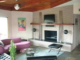 mid century modern fireplace mid century living room fireplace mid century modern fireplace decor