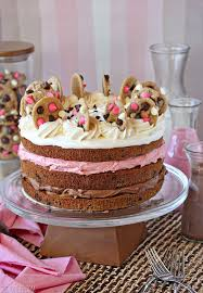Neapolitan Chocolate Chip Cookie Cake SugarHero