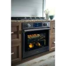 electric wall ovens single electric wall oven self cleaning with steam cooking and dual convection in black stainless electric wall ovens perth