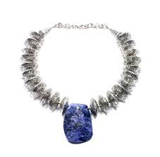 sodalite gemstone meaning and statement necklace of course