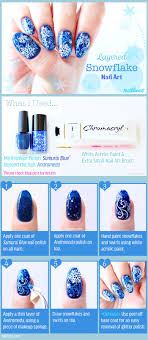 Best 25+ Snowflake nail art ideas on Pinterest   Snowflake nails ...