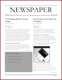 Where Can I Find A Newspaper Template Microsoft Word Newspaper Template The Awesome Web With Microsoft