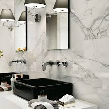 Italtile  Marvel Calacatta Extra Gloss Glazed Ceramic Wall Tile - Glazed bathroom tile