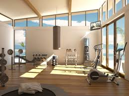 Modern Interiors Designing Gym Room In Home