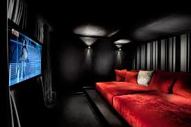 classic home theater designs home theater contemporary with black wall contemporary decorative pillows