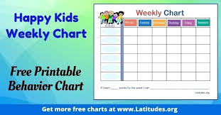 weekly reward chart printable free printable reward charts for good behavior